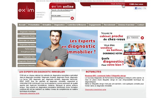 exim-expertises.fr website preview