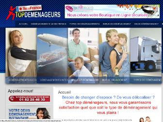 iledefrance.topdemenageurs.fr website preview