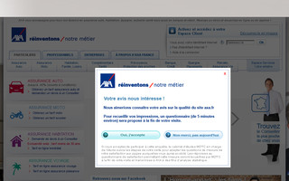 axa.fr website preview