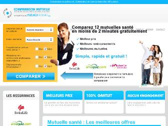 comparaisonmutuelle.net website preview
