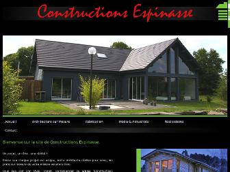 constructions-espinasse.fr website preview