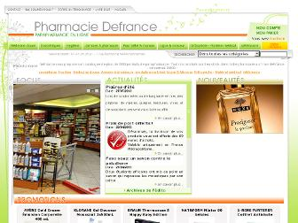 parapharmacie-defrance.fr website preview