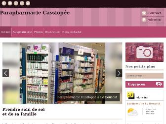 parapharmacie-cassiopee-bouscat.fr website preview