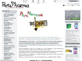 parapharma-discount.fr website preview