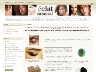 eclatmineral.fr website preview