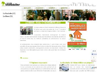 salon-immobilier.org website preview