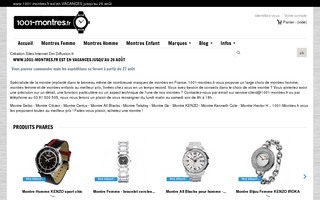 1001-montres.fr website preview