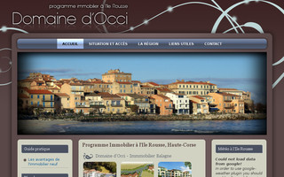 ilerousse-immobilier-balagne.fr website preview