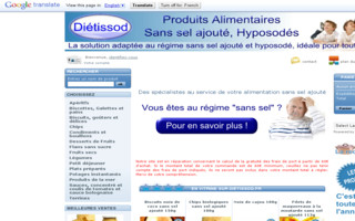 dietissod.fr website preview