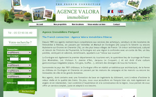 valora.fr website preview