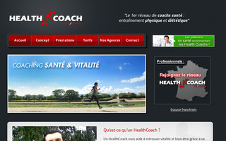 healthcoach.fr website preview