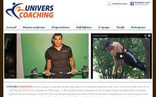 univers-coaching.fr website preview