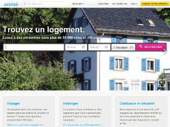 airbnb.fr website preview