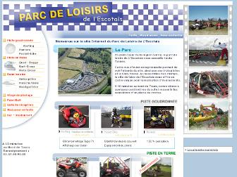 parcdeloisirsdelescotais.fr website preview