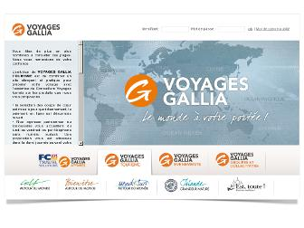voyages-gallia.fr website preview
