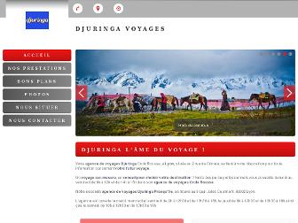 djuringa-agence-de-voyages.fr website preview
