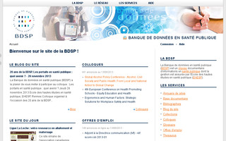 bdsp.ehesp.fr website preview