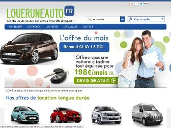 loueruneauto.fr website preview