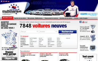 multimarque.fr website preview