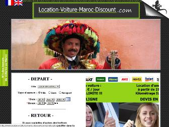 location-voiture-maroc-discount.com website preview
