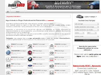 indexauto.fr website preview