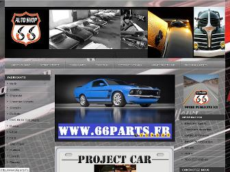 66autoshop.fr website preview