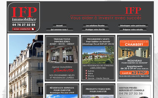 ifp-immobilier.fr website preview