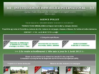 iii-immobilier.fr website preview