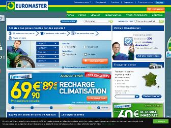 euromaster.fr website preview