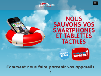 savemysmartphone.fr website preview