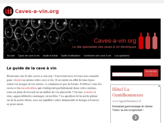 caves-a-vin.org website preview