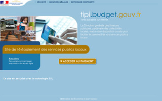 tipi.budget.gouv.fr website preview
