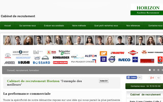 recrutement-commercial.fr website preview