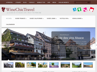 winechictravel.fr website preview