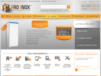 proinoxchr.fr website preview