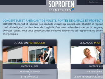 soprofen.fr website preview