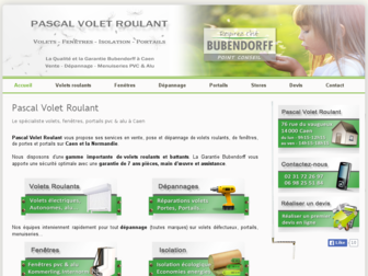 volet-roulant-caen.fr website preview