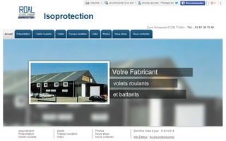 isoprotection.fr website preview