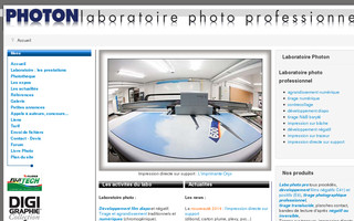 labo-photon.fr website preview