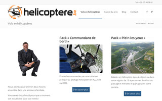 helicoptere.be website preview