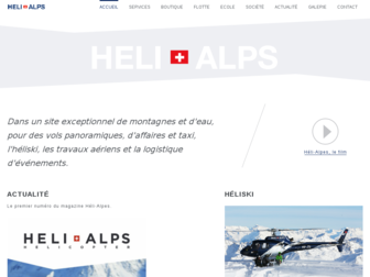helialps.ch website preview