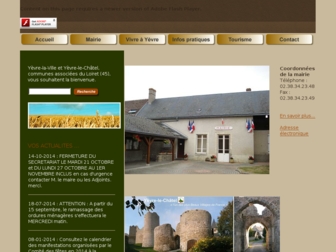 yevre-la-ville.fr website preview