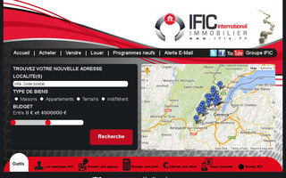 ific.fr website preview