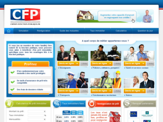 credit-fonction-publique.fr website preview