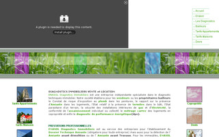 enasol-diagnostic-immobilier.fr website preview