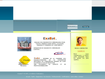 exabat.fr website preview