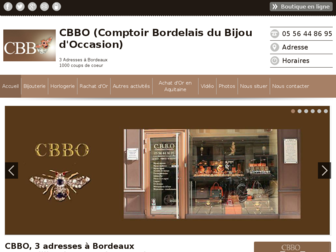 cbbo-bordeaux-achat-or.fr website preview