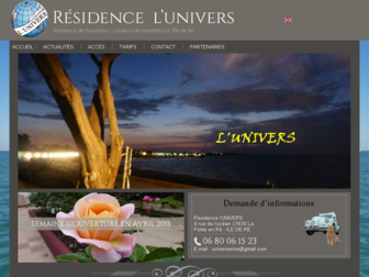 universenre.fr website preview