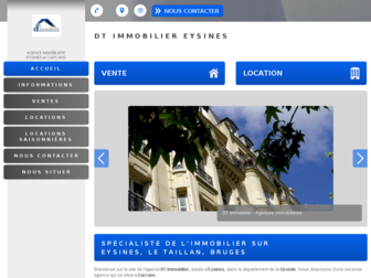 dtimmobilier-eysines.fr website preview
