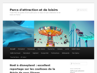parc-attraction-loisirs.fr website preview